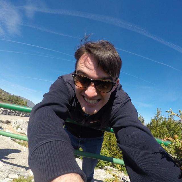 Креплю #gopro над обрывом в 1000 метров :)