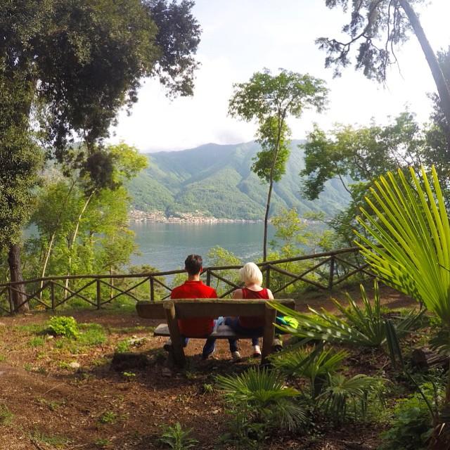 Озеро Комо красивое, но дороги в Италии узкие и изнурительные