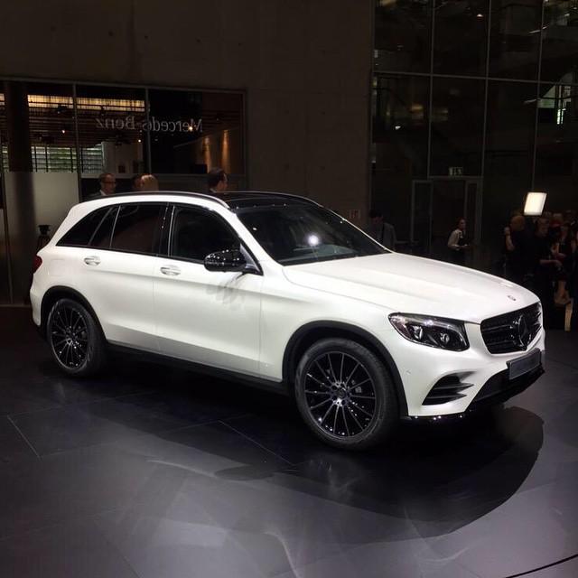 Новый Mercedes GLC на замену GLK