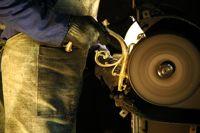 Обработка бронзовых люстр