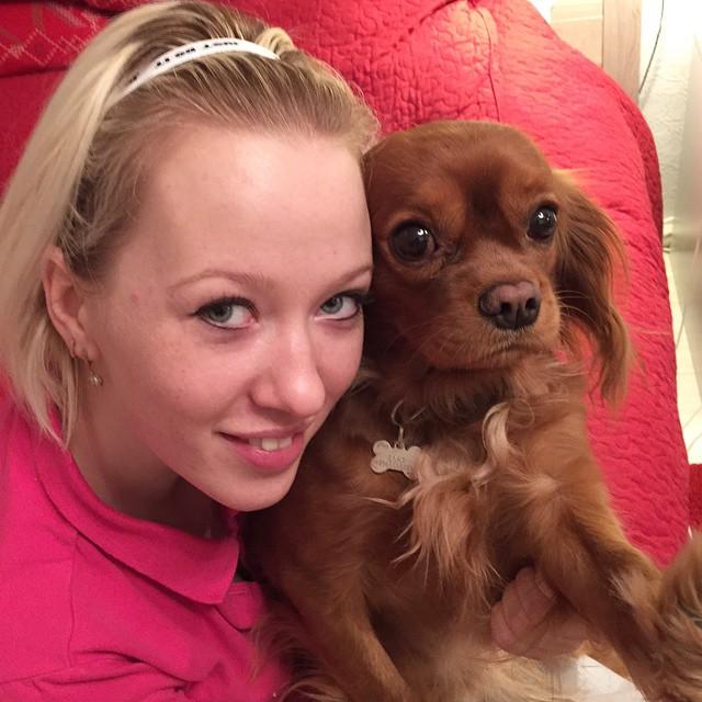 Когда собака снимает #selfie