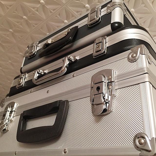 Обожаю чемоданы с техникой