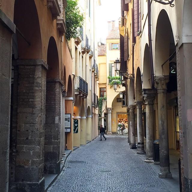 И мы потерялись на улочках Падуи в Италии