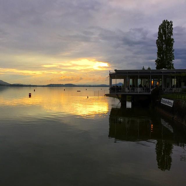 Озеро Боден прекрасно.