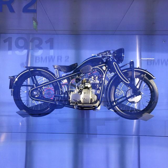 Дизайн мотоциклов BMW в 1931 году