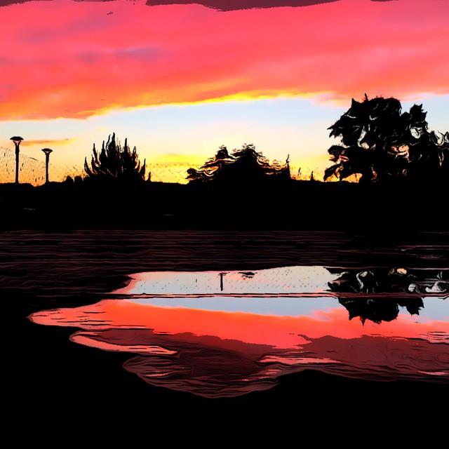 Краски заката