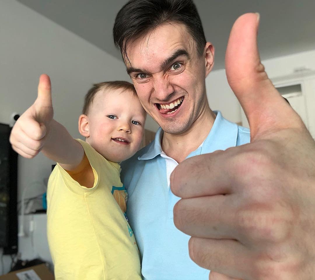 Как настроение, сын? Вот так!