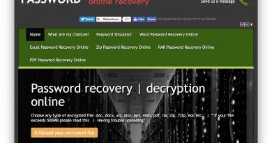 Забыли пароль к RAR-архиву? Шанс есть — password-online.com